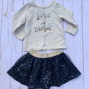 Girls 2 pc Outfit